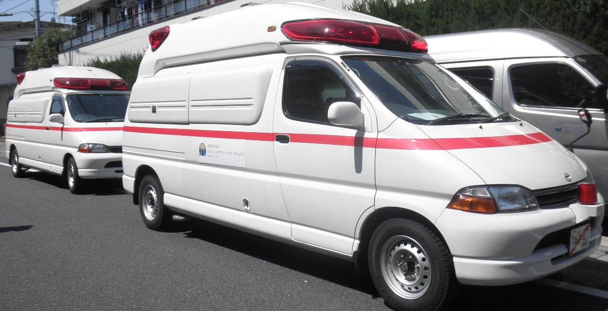 2 ambulances
